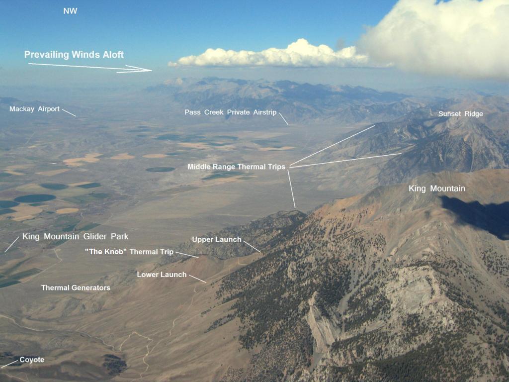 Above King Mountain in September